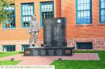 In Memory of the Coal Miners of Erie & the Northern Coalfields at Town Hall, Erie, Colorado