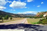 View from Red Rock Drive & Chippewa Drive in Larkspur, CO